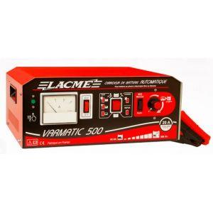Lacme VARMATIC 500-2 - Chargeur automatique 20A avec variateur pour batteries 12V et 24V