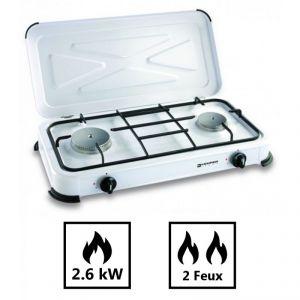 Kemper Plaque de cuisson gaz portable 2 feux