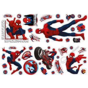 Decofun Autocollant mural Spiderman III