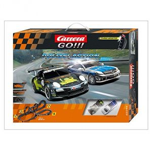 Carrera Toys 62344 GO!!! Circuit de voitures Polizei Action
