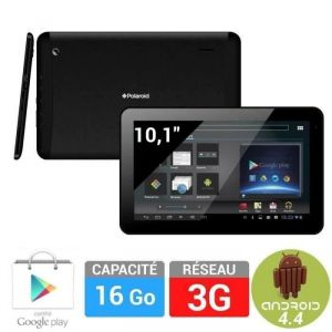 "Polaroid Infinite+ 3G 10.1"" 16 Go - Tablette tactile sous Android 4.4 KitKat"