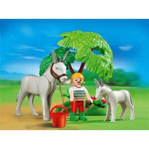 Playmobil 4187 - Ane avec ânon