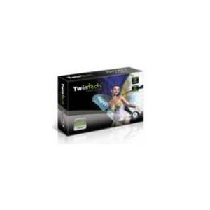 Twintech 91420-52 - Carte graphique GeForce FX 5500 256 Mo DDR AGP 8x
