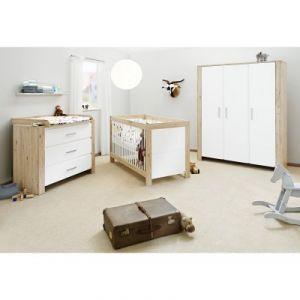 Pinolino Candéo - Chambre bébé complète avec armoire 3 portes