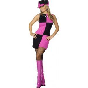 Déguisement rose disco femme (taille S, M ou L)