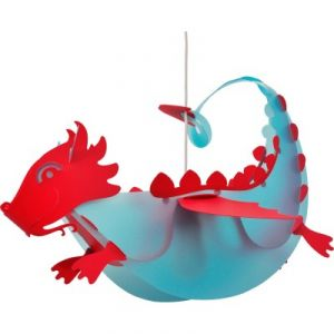Rosemonde et Michel Coudert Dragon - Suspension L53 cm