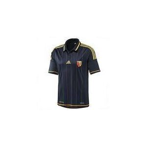 Adidas W67403 - Maillot de foot RCL Lens Away 2012-2013 junior