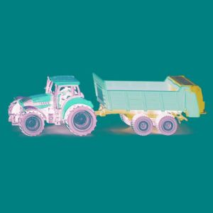 Siku 1673 - Tracteur avec épandeur