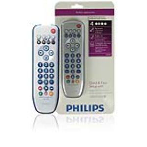 Philips SRP3004 - Télécommande universelle 4 en 1 Perfect replacement