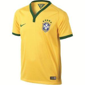 Nike Maillot de foot à domicile Brésil 2013 - 2014 enfant