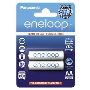 Panasonic Accus eneloop NiMH R6 (AA) 1.2 V 1900 mAh 2 pc(s)