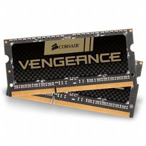 Corsair CMSX8GX3M2A1866C10 - Barrettes mémoire Vengeance 2 x 4 Go DDR3 1866 MHz CL10 204 broches