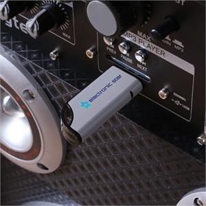 Skytec SPD-210V Enceinte active pour Karaoke avec port USB SD VHF et MIC