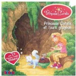 Klein Livre princesse Coralie et l'ours grognon