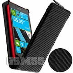 Nokia CBCNOK520N - Étui  aspect Carbone pour Nokia Lumia 520