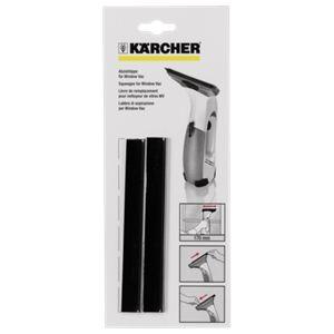 Kärcher 2.633-104.0 - Lèvres en caoutchouc de rechange WV (170 mm) pour nettoyeurs de vitres