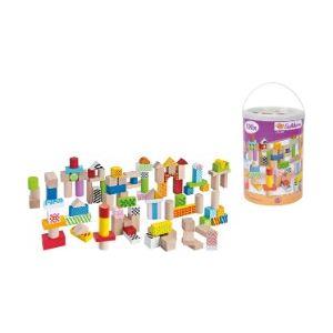 Eichhorn 100 briques en bois Color