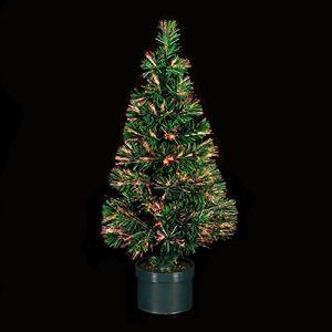 Sapin de Noël artificiel lumineux en fibre optique (150 cm)