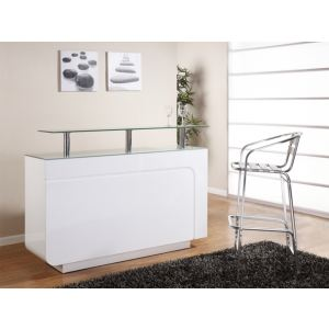 meuble bar blanc laque comparer 171 offres. Black Bedroom Furniture Sets. Home Design Ideas