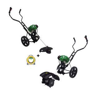 TCK Garden Motobineuse thermique / debrousailleuse + fil nylo