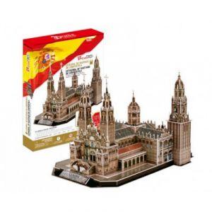 CubicFun Cathédrale de Saint-Jacques-de-Compostelle - Puzzle 3D 101 pièces