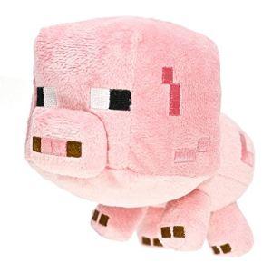 Toy Zany Peluche Minecraft bébé Cochon 18 cm
