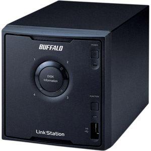 Buffalo LS-QV8.0TL/R5-EU - Serveur NAS LinkStation Pro Quad 8 To 4 baies USB 2.0 Ethernet