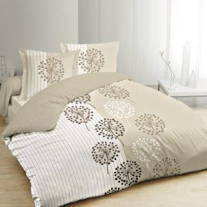 housse couette taupe beige comparer 68 offres. Black Bedroom Furniture Sets. Home Design Ideas