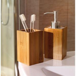Accessoire salle de bain bambou comparer 202 offres for Boite a savon gifi