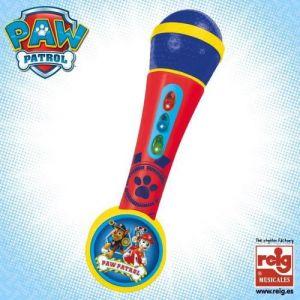 Reig Musicales Microphone amplificateur Pat'Patrouille