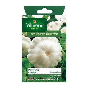 Vilmorin Patisson croblan - Sachet graines