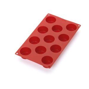 Lékué 0620811r01m022 - Moule à mini muffins 11 cavités en silicone