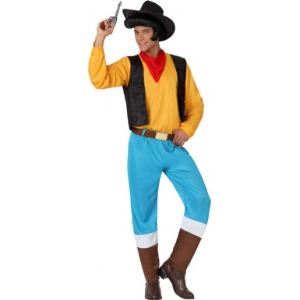 Atosa Déguisement de cow boy Lucky Luke (taille M/L)