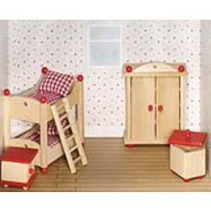 Goki 51953 - Chambre des enfants pour maison de poupée