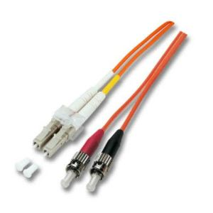 Neklan 2070147 - Câble fibre optique multimode OM1 62.5/125 ST/LC 1 m