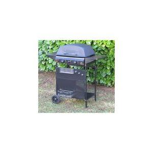 Hesperide Zinnia - Barbecue à gaz sur chariot avec couvercle