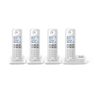 Philips D2354W/FR - Téléphone sans fil avec répondeur 4 combinés