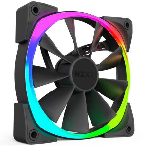 Nzxt Aer RGB 120 mm Triple Pack - Pack de 3 ventilateurs PWM 120 mm à LEDs RGB