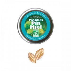 Aromandise Pastilles de pin miel 45g