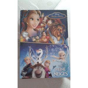 Coffret Disney :  La Belle & La Bête + La Reine Des Neiges