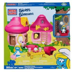 Mega Bloks 10751U - La maison de la Schtroumpfette