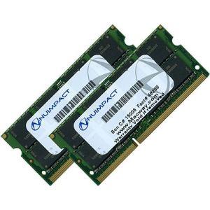 NUIMPACT NUA-MBP1600/16GKT - Barrettes mémoire 2 x 8 Go DDR3 1600 MHz PC3-12800 SODIMM