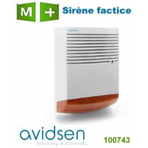 Sirene factice comparer 22 offres for Sirene exterieure factice