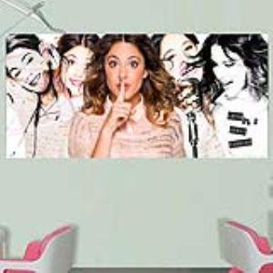 Poster géant horizontal Violetta Disney Channel (90 x 202 cm)