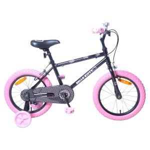 """Injusa 1633 - Vélo fille Hello Kitty noir 16"""""""