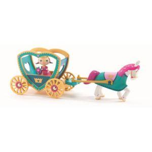 Djeco Figurine Arty Toys - Les princesses : Alycia & Ze calèche