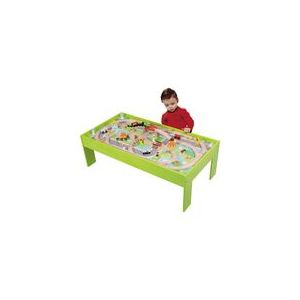 wood 39 n play table et circuit train en bois comparer avec. Black Bedroom Furniture Sets. Home Design Ideas