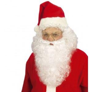 Widmann Barbe et perruque du Père Noël luxe