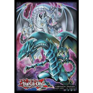 Konami Protège-cartes Yu-Gi-Oh! Double Dragon (50 cartes)