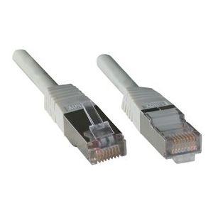 Lindy 45160 - Câble réseau FTP cat.5e basique 0.5 m.